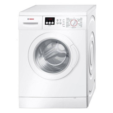 Low Noise 1400 RPM Washing Machine In All White