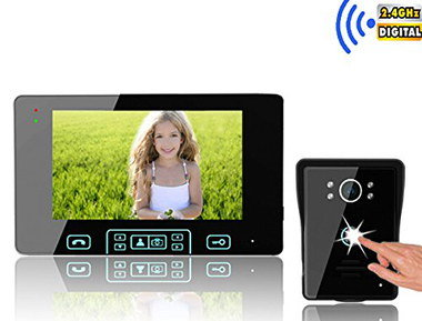 Wireless Intercom For Home With Push Buzzer