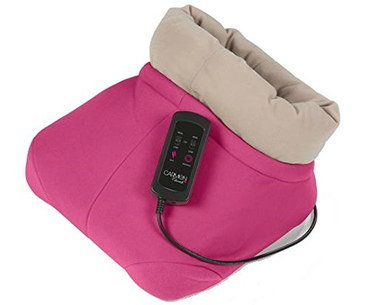 Foot Warmer Massager In Bright Pink