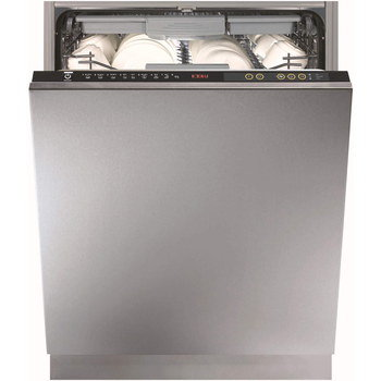 Brand New Dishwasher With Black Controls On Top