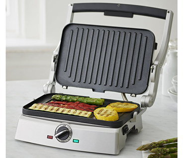 Electric Tabletop Grill With Large Handle