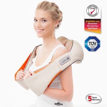 Kneading Neck Massager In Cream Colour