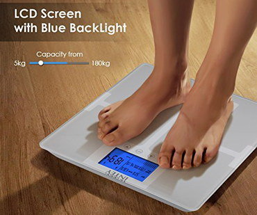 Body Composition Monitor With Blue Back Light