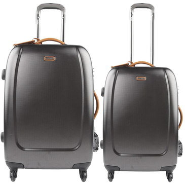 Ultra Light Suitcases In Textured Style Shell