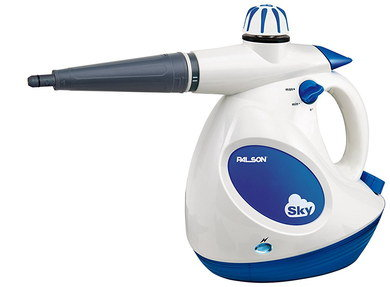 Multi Purpose Steam Cleaner In Blue And White