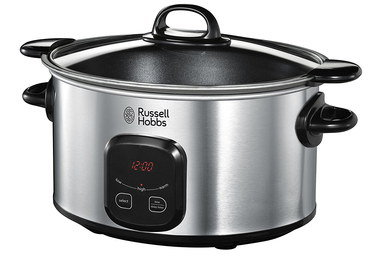 6 Litres Digital Slow Cooker With Clear Lid