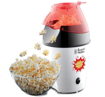 Hot Air Popcorn Maker In Black And White Exterior