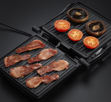 180 Degrees Steel Indoor Griller In Black