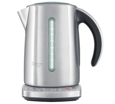 Kettle With Temperature Gauge Controls On Base