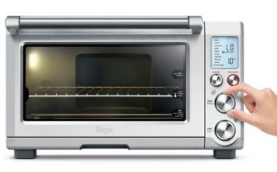 IQ Tech Toaster Convection Oven With Chrome Dials