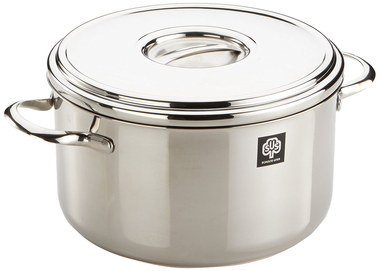 Heavy-Duty Non Stick Stock Pot With Steel Grips