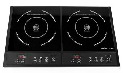 Double Induction Hob With Front Controls