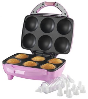 Cupcake Bundle In Pink With Clear Plastic Nozzles