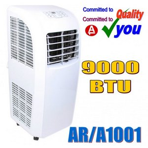 Compact Air Conditioner In All White Exterior