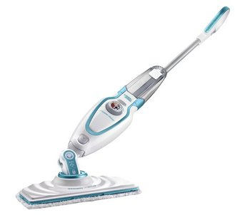 Steam Mop In White And Blue
