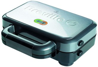 Ultra Deep Fill Panini Toaster In Steel And Black Casing