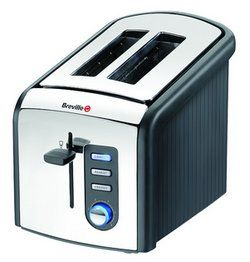 Breville VTT214 Polished Stainless Steel 2 Slice Toaster