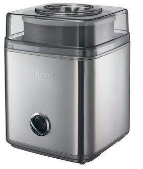2 Litres Auto Ice Cream Maker In Stainless-Steel Finish