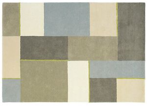 Harlequin Squares Rug Hessian