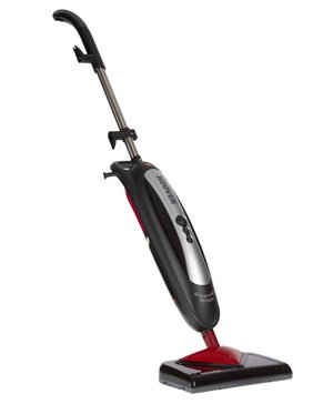 Steam Mop In Black And Red