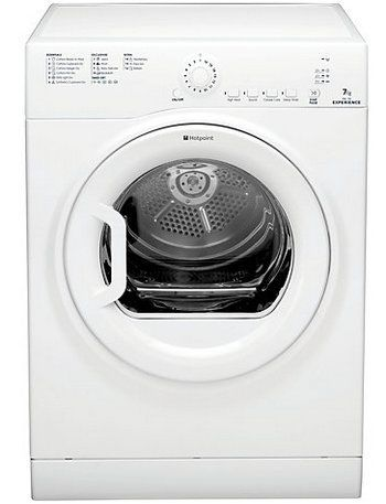 Hotpoint Experience TVEL75C6P Sensor Dryer In All White Colour