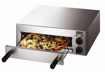 Energy Efficient Pizza Oven In Brushed Steel Finish