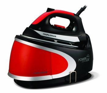 Power Steam Generator In Black And Red Exterior