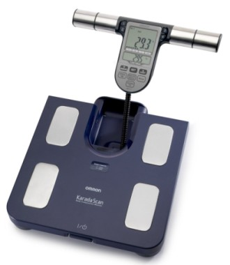 BMI Body Composition Scales In Blue With Display