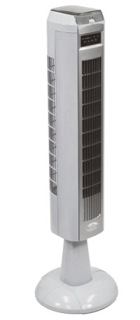 Prem-I-Air Cooling Tower Fan On White Pedestal