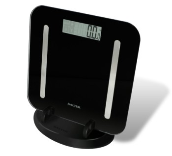 Body Analyser Scales In Upright Position