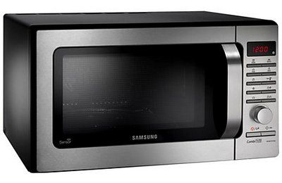 Combi Microwave In Black And Brushed Steel