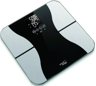 Electronic Body Fat Scales In Black And White