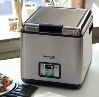 SousVide Supreme Water Oven In Brushed Steel Effect