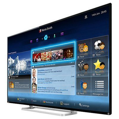 Toshiba 55L7453 LED Backlit HD Smart TV With Blue Start Screen