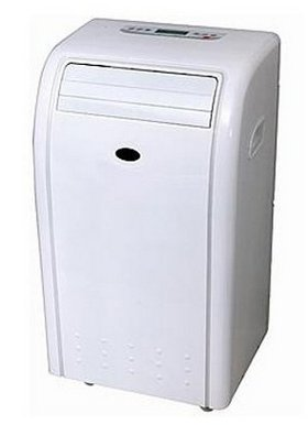 Fan Mobile Air Cooler In White Exterior