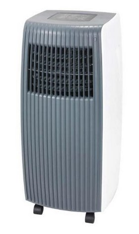 Mobile Air Conditioner In White And Grey