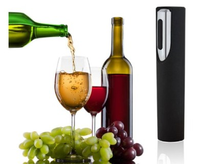 4AA Bottle Opener In Black With Grapes
