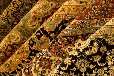 Asian Pure Silk Rugs