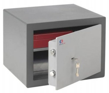 Small Fireproof Safe In Attractive 2-Tone Colour
