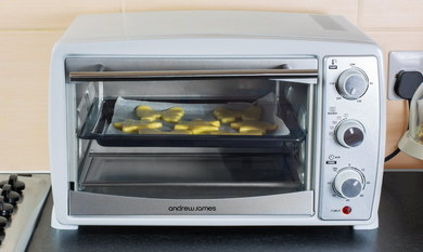 20 Litres Mini Convection Oven In White Casing