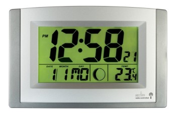 Digital Clock With Green Back Light
