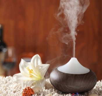 Essential Oil Diffuser Humidifier With Flower