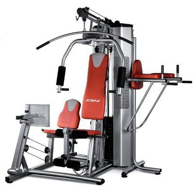 Fitness Bench Multi Gym With Leg Press In Chrome Effect Finish