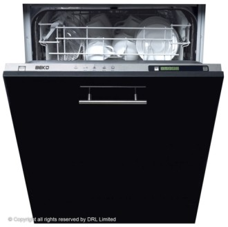 Beko DW603 Integrated (A) Dishwasher In Black Casing
