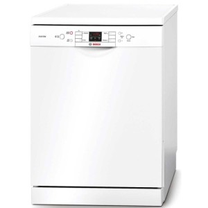 Bosch SMS58T02GB A+ 14 Place Dishwasher In All White Exterior