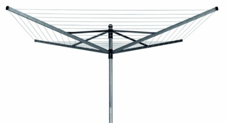 Brabantia Lift O Matic Rotary Airer Clothes Line In Black Finish