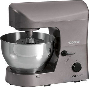 5L Dough Kneading Machine With Polished Chrome Dish