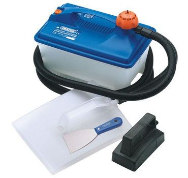 competent wallpaper stripping steamer with black hose - Wall Paper Remover