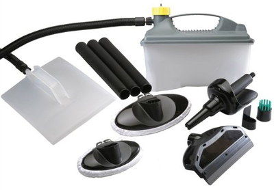 4L Industrial Wallpaper Steamer Cleaner With Black Accessories