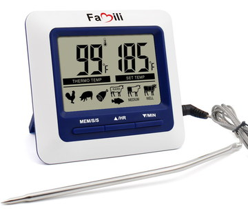 Digital Kitchen Meat Thermometer With Big Digits